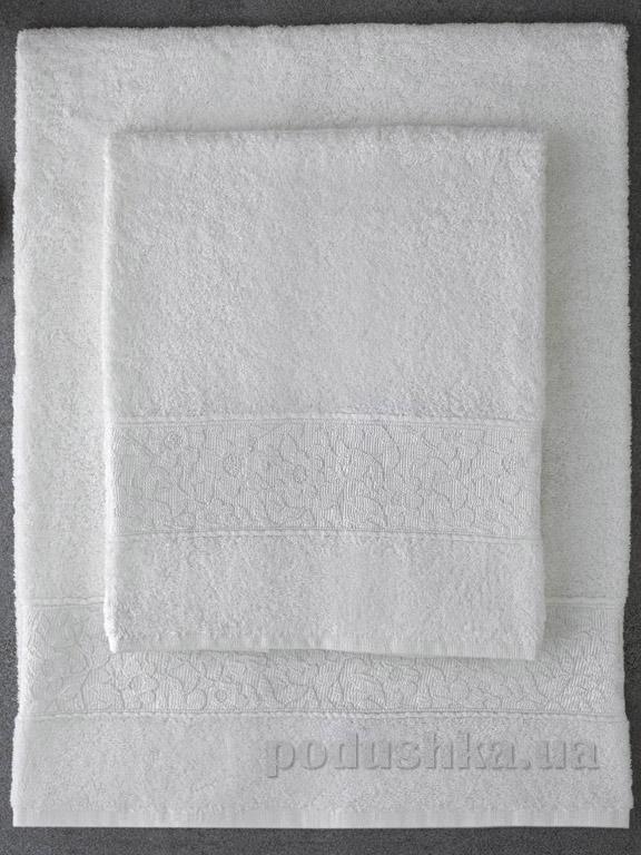 Набор полотенец Pavia Solid Ecru молочный - 2 шт