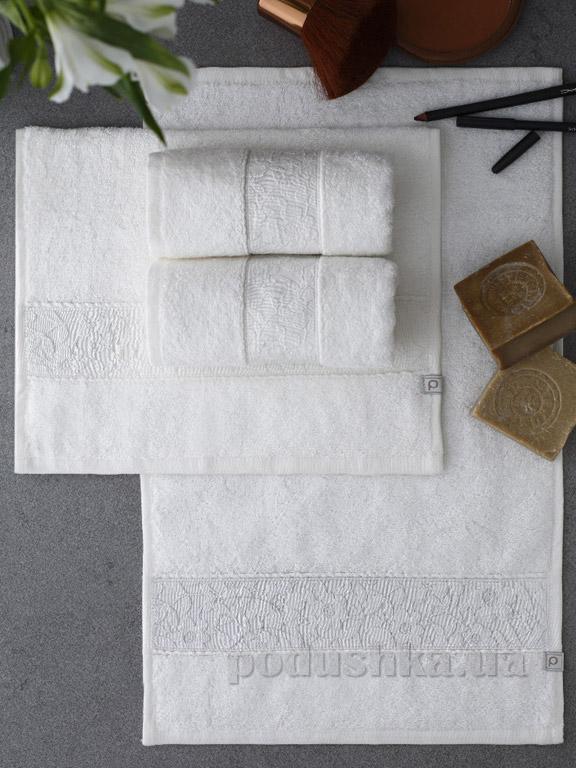 Набор полотенец Pavia Solid Ecru молочный - 4 шт