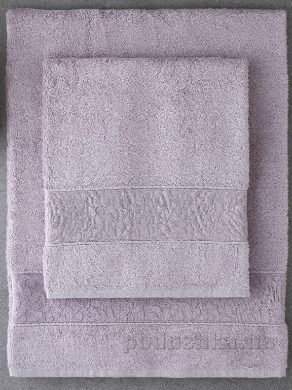Набор полотенец Pavia Solid Lila лиловый - 2 шт