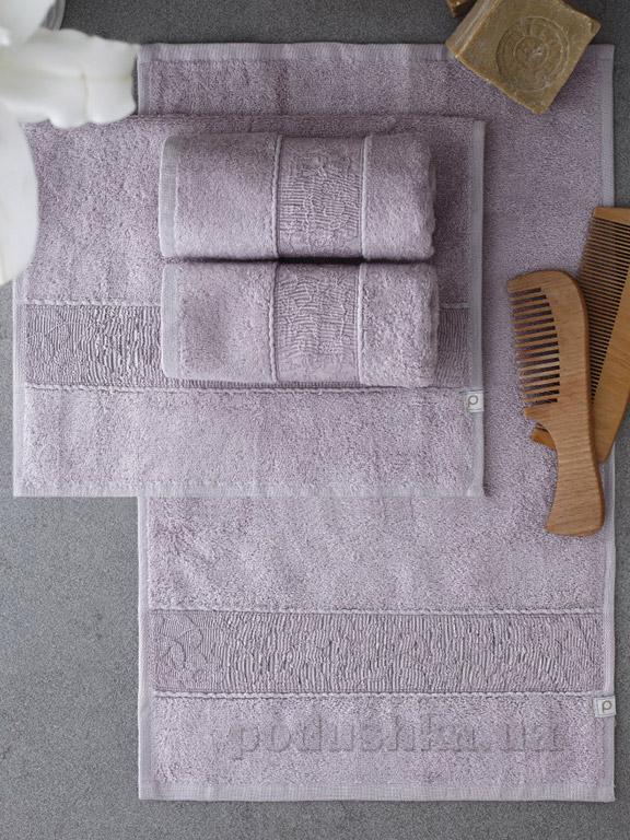 Набор полотенец Pavia Solid Lila лиловый - 4 шт