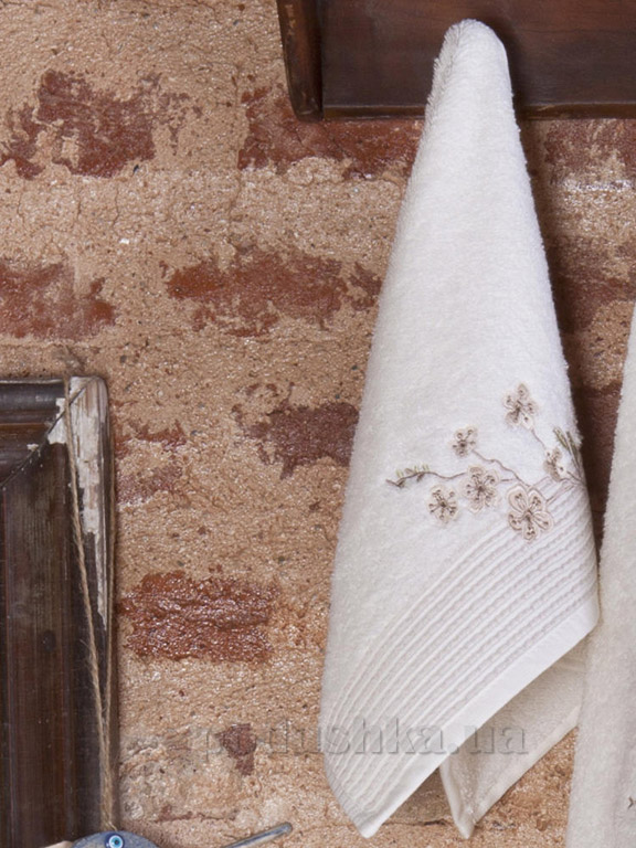 Набор полотенец Pavia Vina beige бежевый - 2 шт