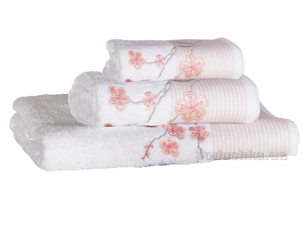 Набор полотенец Pavia Vina pink розовый - 3 шт