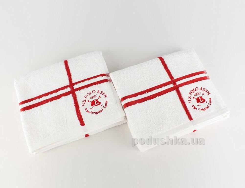 Набор полотенец U.S. Polo Assn Roswell красный