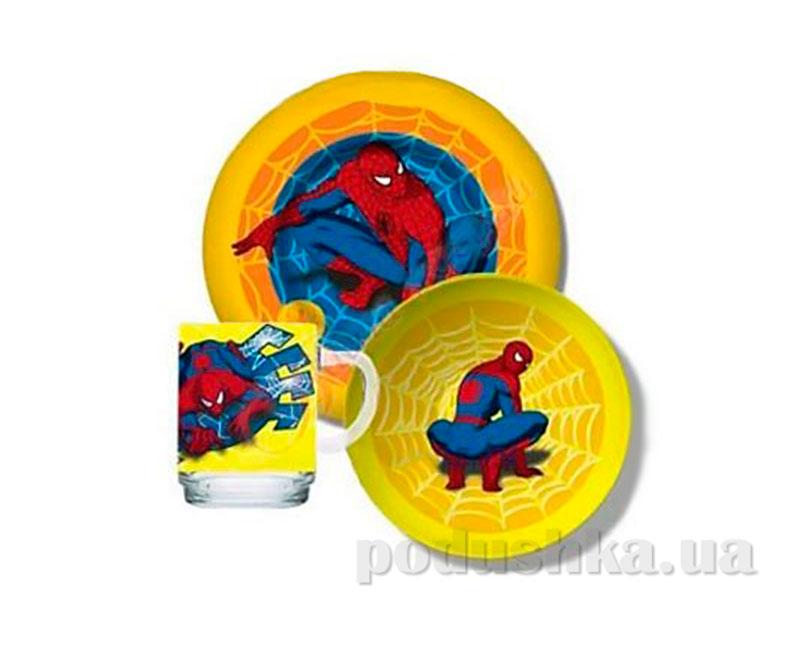 Набор посуды для детей Luminarc Spiderman H4466/CK