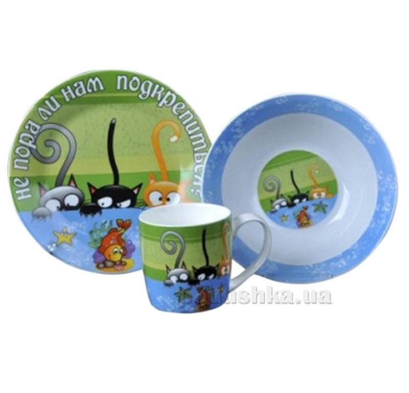 Набор посуды для детей Три котенка ST 5132-03