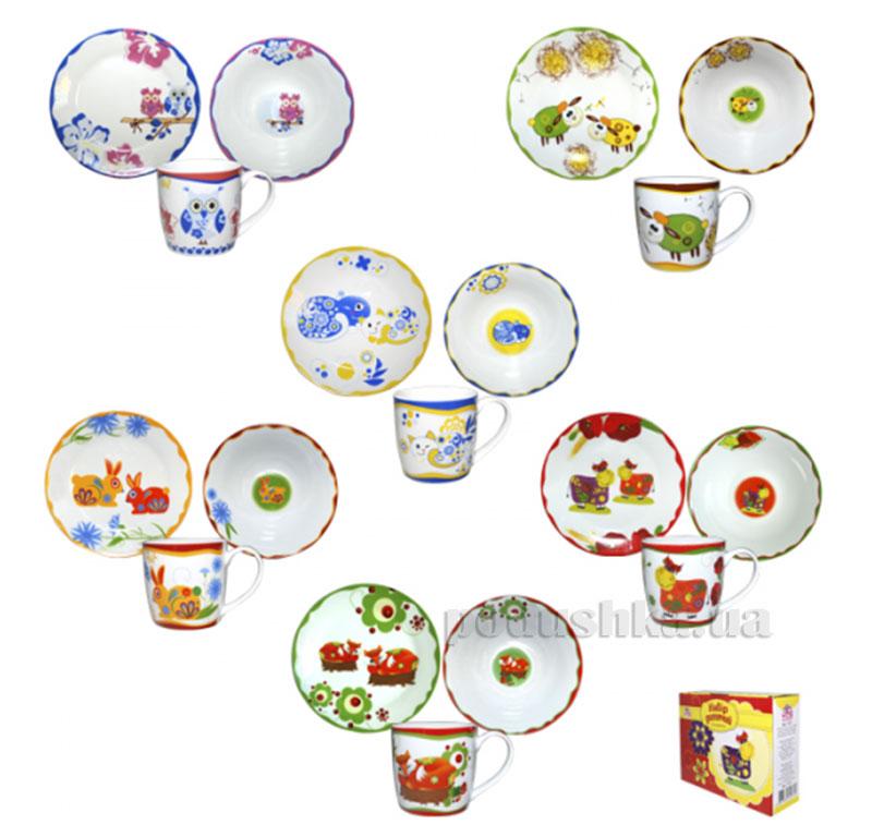 Набор посуды для детей В мире животных ST 5138