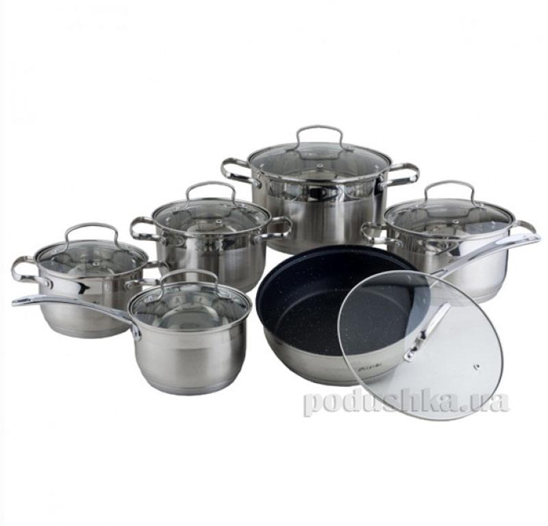 Набор посуды из нержавеющей стали Kamille AM-4007 SMR