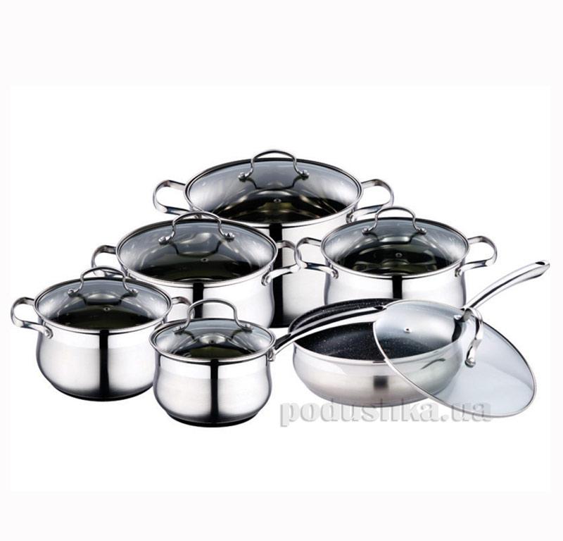 Набор посуды из нержавеющей стали Kamille AM-4050 S