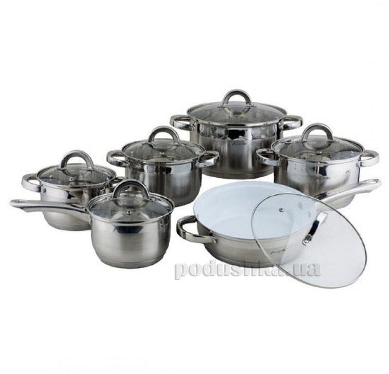 Набор посуды с полыми ручками Kamille AM-4027 SKER