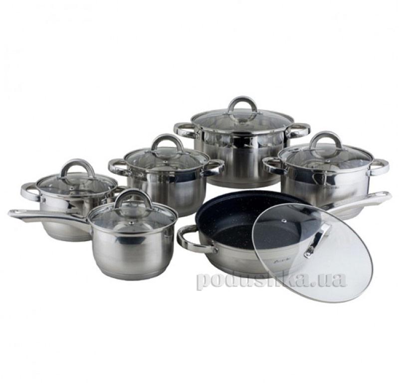 Набор посуды с полыми ручками Kamille AM-4027 SMR