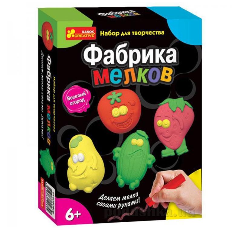 Набор Ranok Creative Фабрика мелков Веселый огород 14100060Р,2140