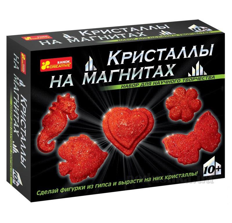 Набор Ranok Creative Кристаллы на магнитах Красные 12126002Р,0385