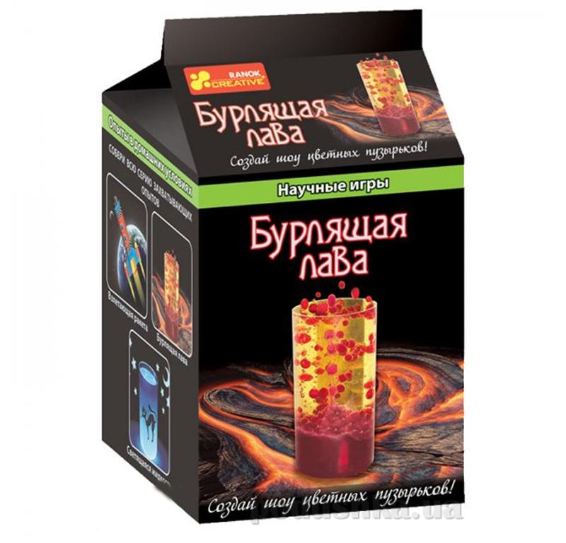 Набор Ranok Creative Научные игры Бурлящая лава 12123002Р,0387
