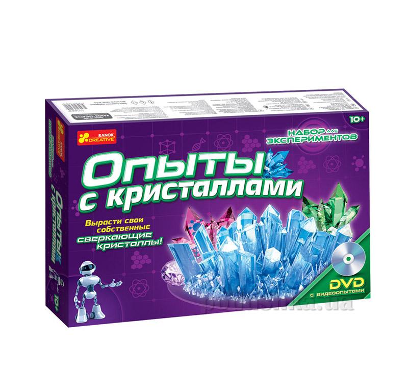 Набор Ranok Creative Опыты с кристаллами 0320,12114002Р