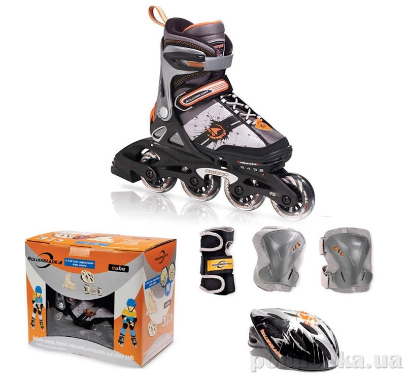 Набор ролики с защитой Rollerblade Spitfire SL Cube 07040200
