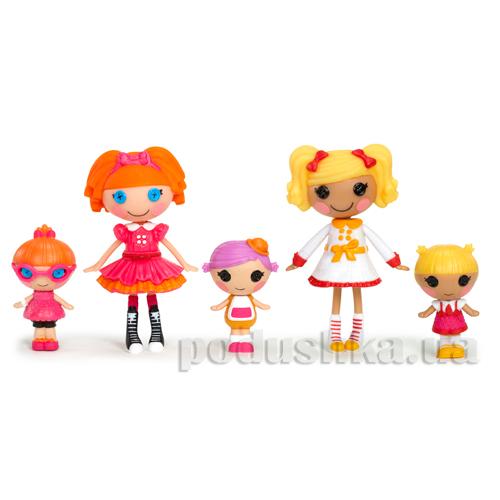 Набор с куклами серии Веселая компашка Minilalaloopsy 531715