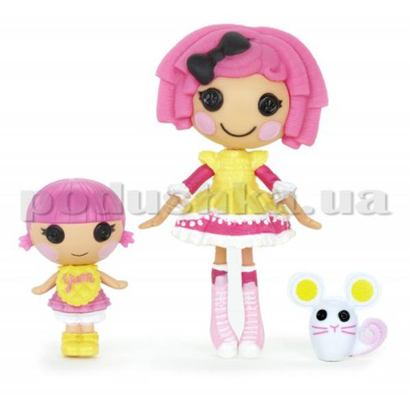 Набор с куклой Мини Лалалупси серии Сестрички Печенюшки 520528 Lalaloopsy