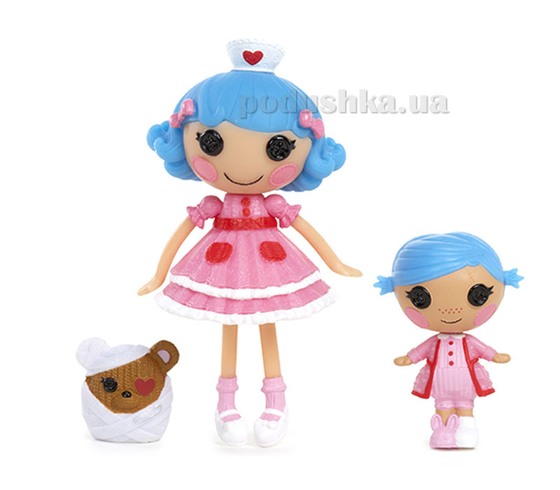 Набор с куклой Minilalaloopsy серии Сестрички Добрые Сердечки 527312