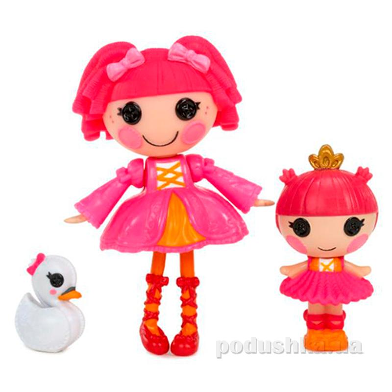 Набор с куклой серии Сестрички Дюймовочки Балерины Minilalaloopsy 529804