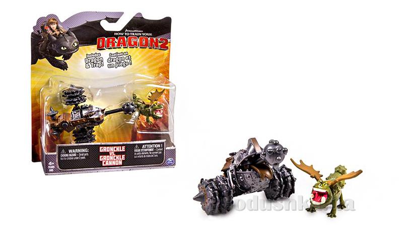 Набор серии Как приручить дракона-2 Сарделька с боевой машиной Spin Master SM66561-1