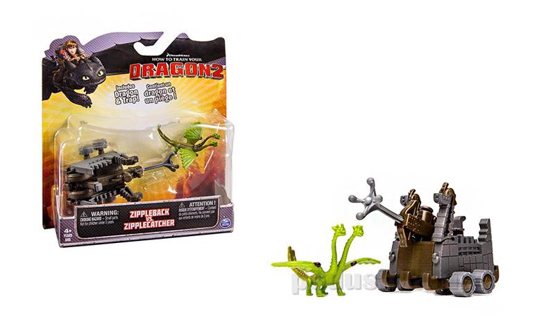 Набор серии Как приручить дракона-2 Вепрь и Барс с боевой машиной Spin Master SM66561-3