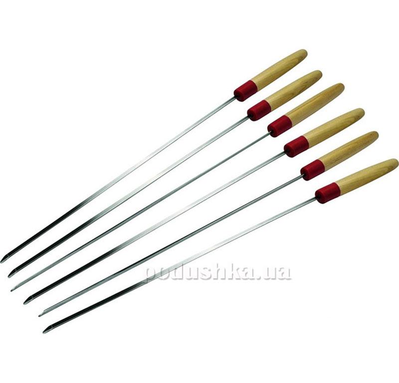 Набор шампуров с деревянной ручкой Grillpro Broil King