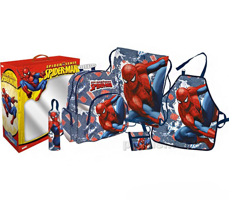 Набор школьника Spider Man из 5 предметов