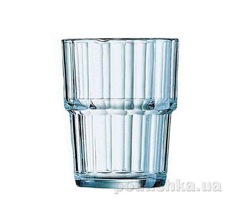Набор стаканов Arcoroc Norvege 6х250 мл низкие 61697   Arcoroc