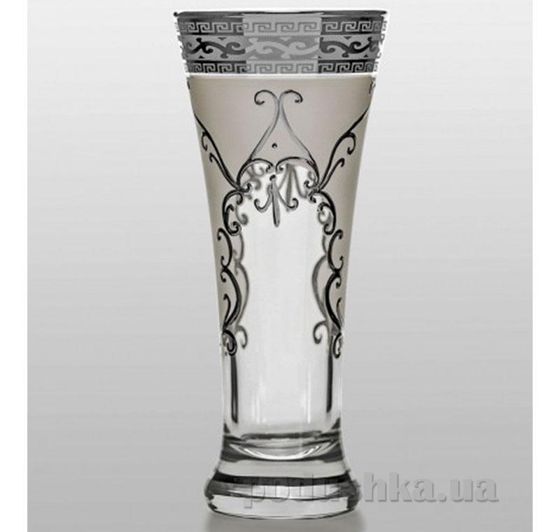 Набор стаканов для напитков Bohemia Sklo Grace Arabesque платина 6 предметов 32-12-310-6-030