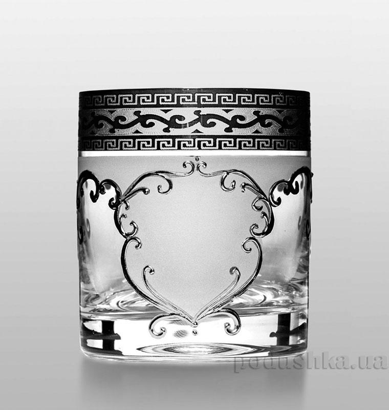Набор стаканов для виски Barline Bohemia Sklo платина 18-08-280-6-030