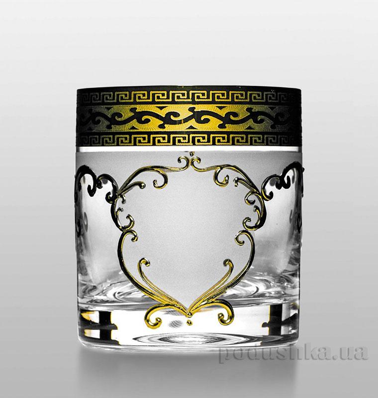 Набор стаканов для виски Barline Bohemia Sklo золото 18-08-280-6-029