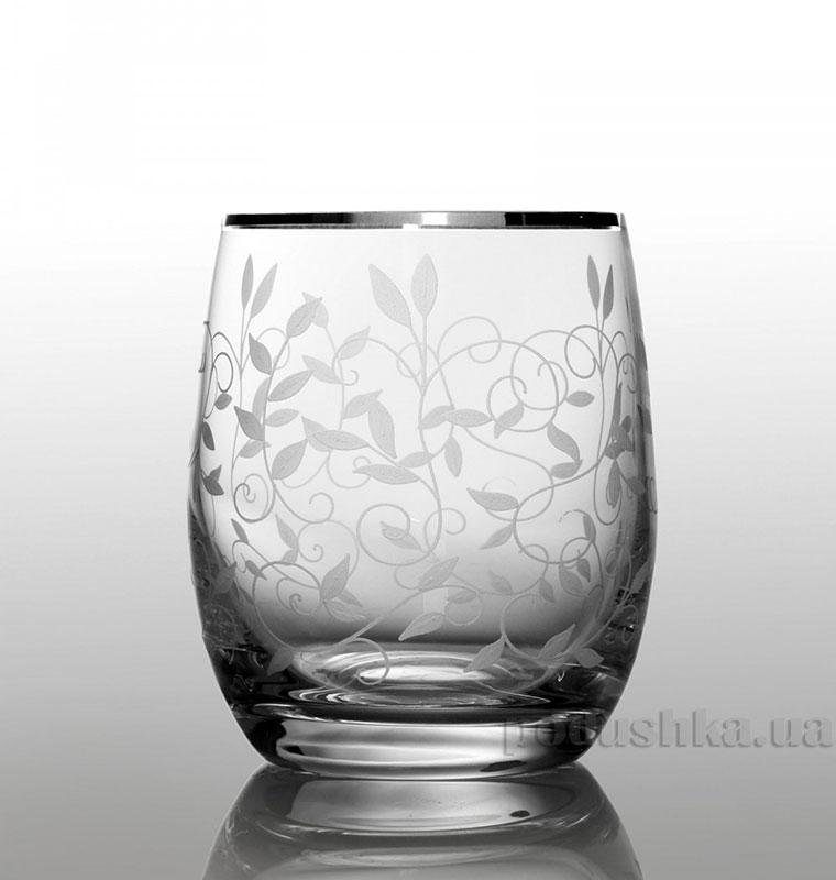 Набор стаканов для виски Club Lido Bohemia Sklo платина 09-08-300-6-020