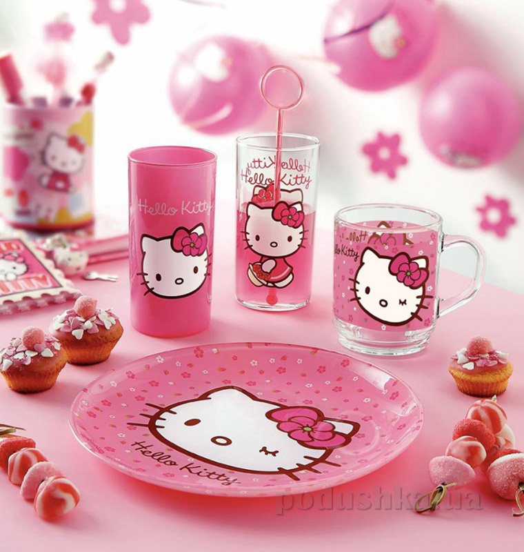 Набор стаканов Luminarc Hello Kitty Cherries J0029