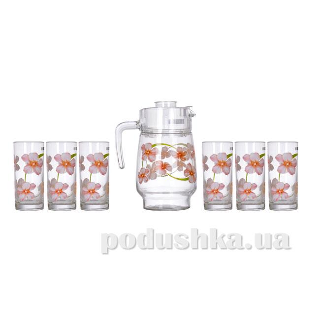 Акция на Набор стаканов с графином Sweet Impression Luminarc N0828 от Podushka