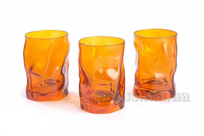 Набор стаканов Sorgente 300 мл Arancio   Bormioli