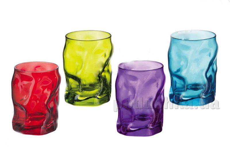 Набор стаканов Sorgente 300 мл Azz-Ver-Vio-Ros