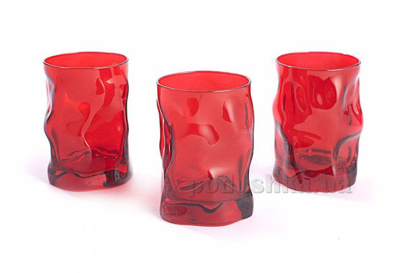 Набор стаканов Sorgente 300 мл Rosso