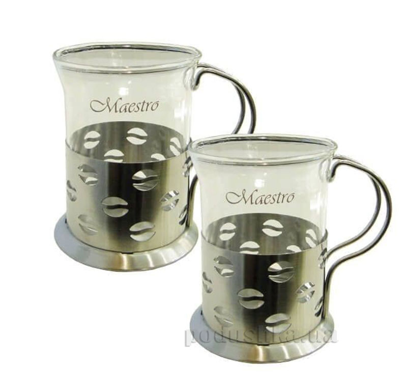 Набор стеклянных кружек Maestro MR 1663-200