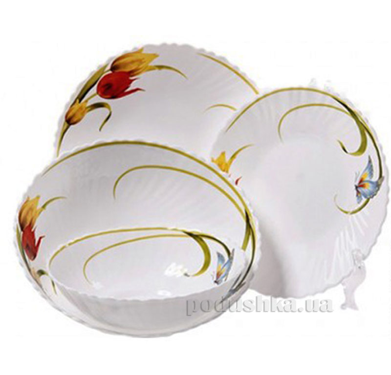 Набор столовой посуды Тюльпан MAESTRO MR 30049-19S