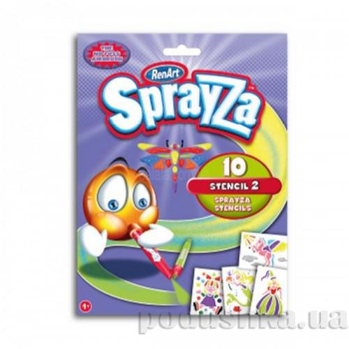 Набор трафаретов Sprayza Girls Renart ST2216UK(UA)