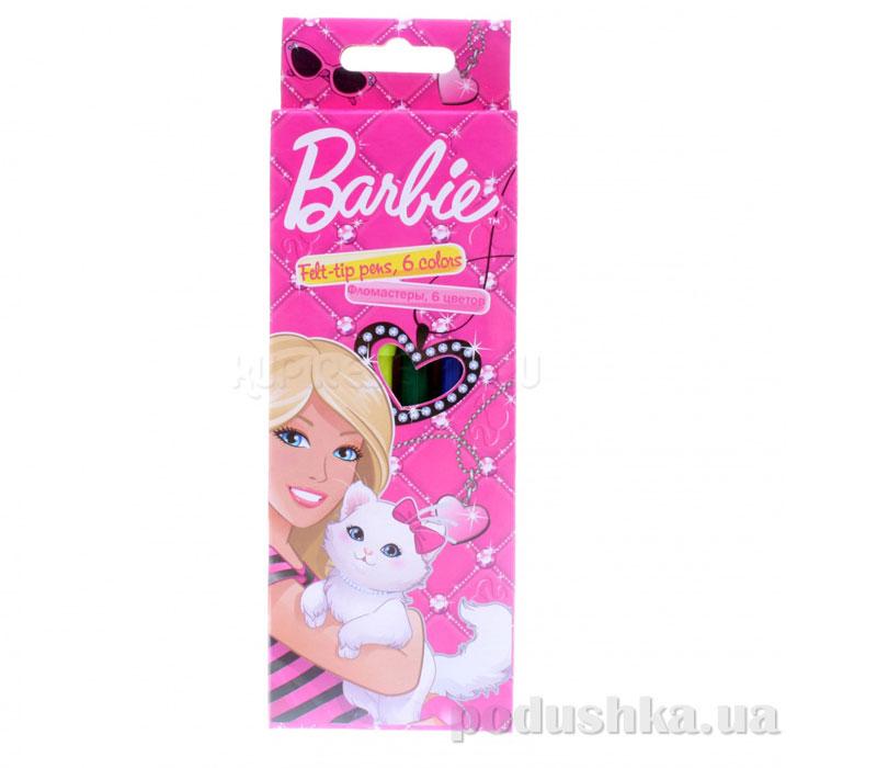 Набор цветных фломастеров Barbie BRAB-US1-2MB-6