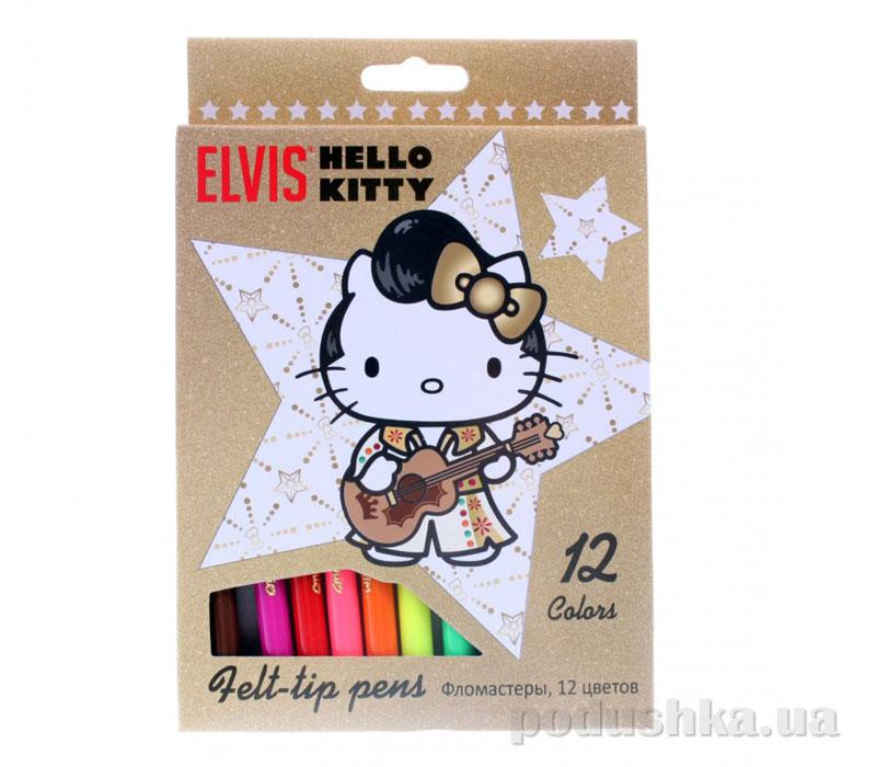 Набор цветных фломастеров Hello Kitty HKAB-US1-2MB-12
