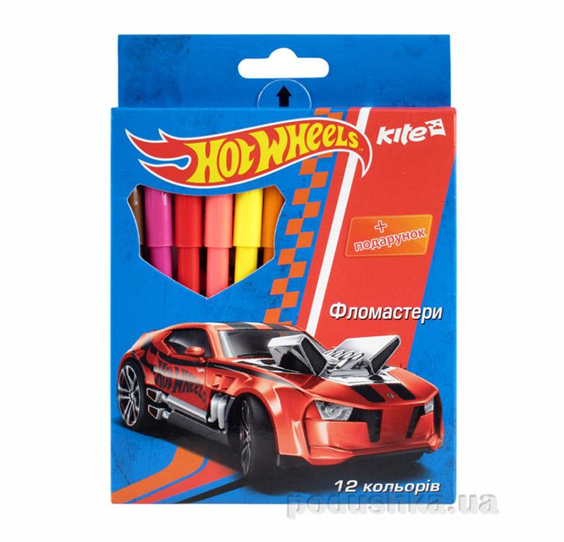 Набор цветных фломастеров Hot Wheels HW14-046K