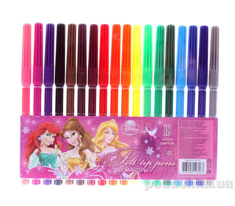 Набор цветных фломастеров Princess PRAB-US1-1M-18