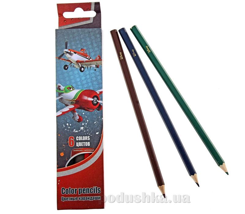 Набор цветных карандашей Самолет PLAB-US1-P-6