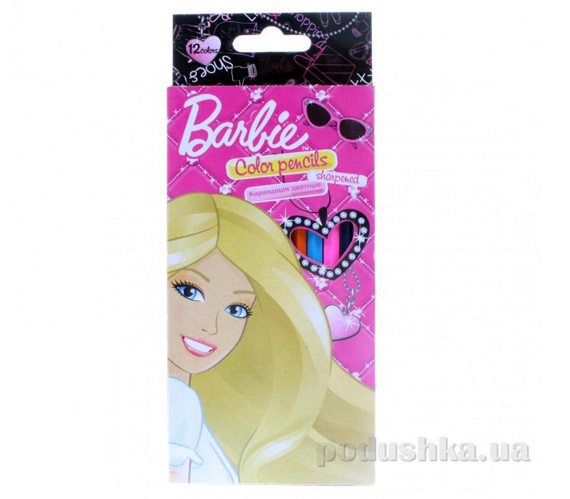 Набор цветных карандашей Barbie BRAB-US1-1P-12