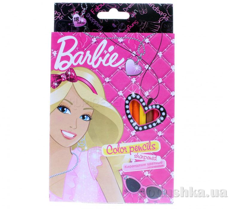 Набор цветных карандашей Barbie BRAB-US1-1P-18