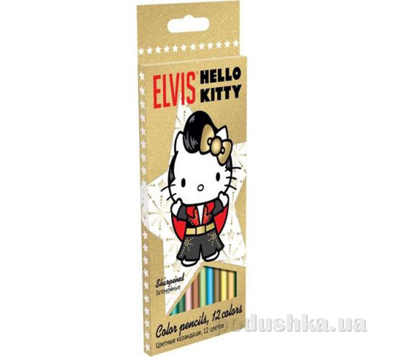 Набор цветных карандашей Hello Kitty HKAP-US1-1P-12