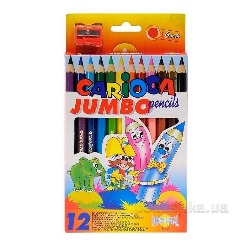 Набор цветных карандашей Jumbo Carioca 41406
