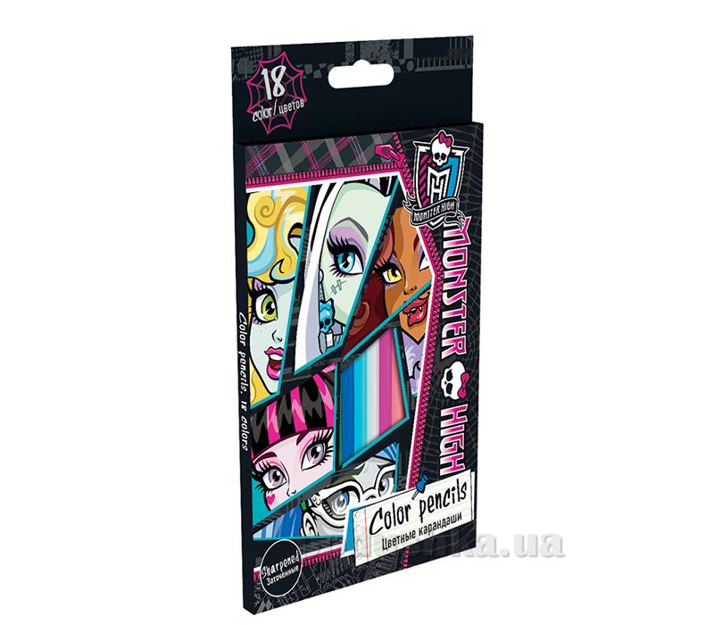 Набор цветных карандашей Monster High MHBB-US1-1P-18